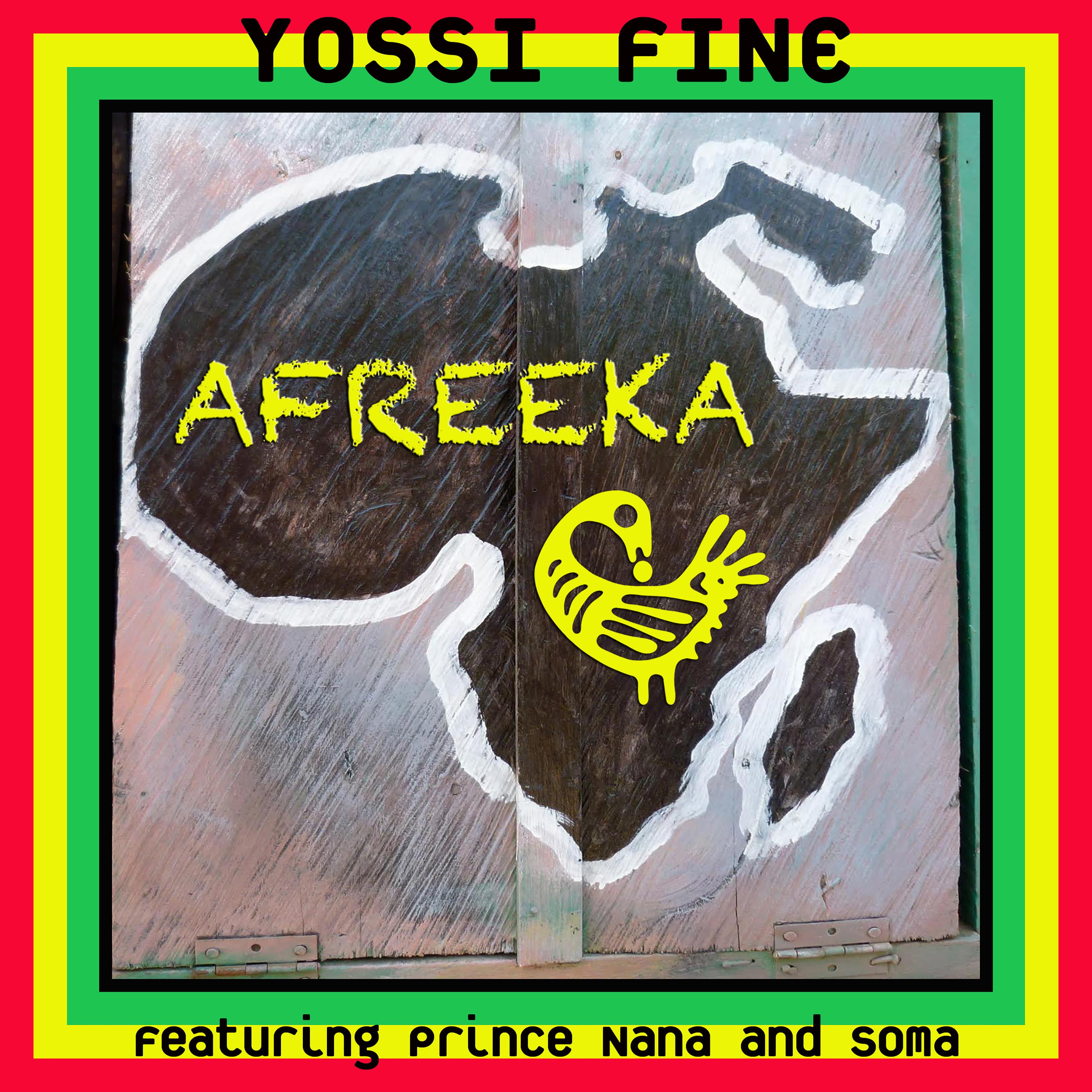 Yossi Fine featuring Prince Nana and Soma are recording a new album, Afreeka!